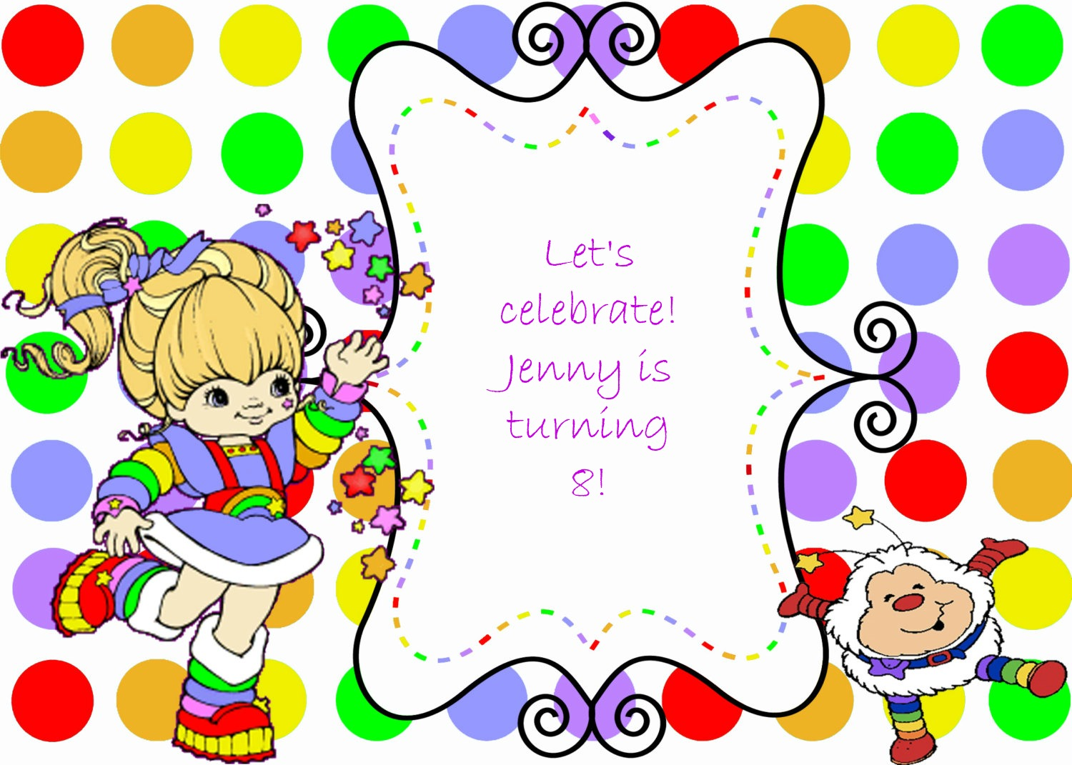 Rainbow Brite And My Selfish Heart
