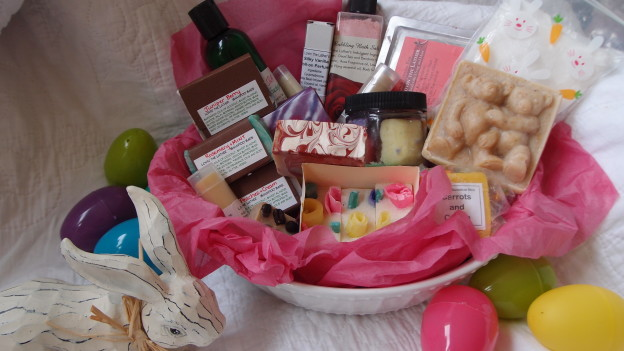 Candy free Easter basket