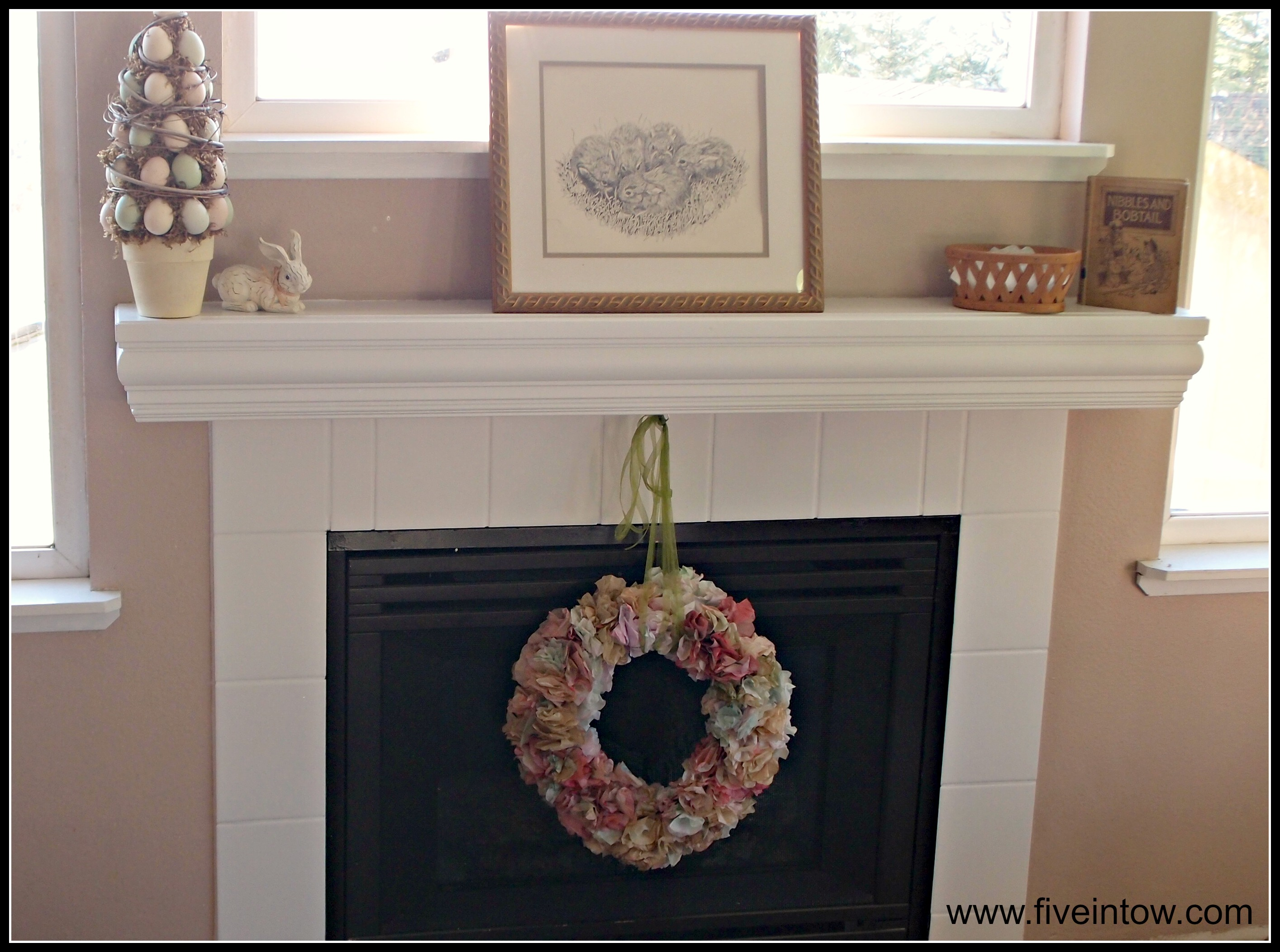 Painting Tile and Other Ways to Save an Ugly Fireplace - Kristen ...