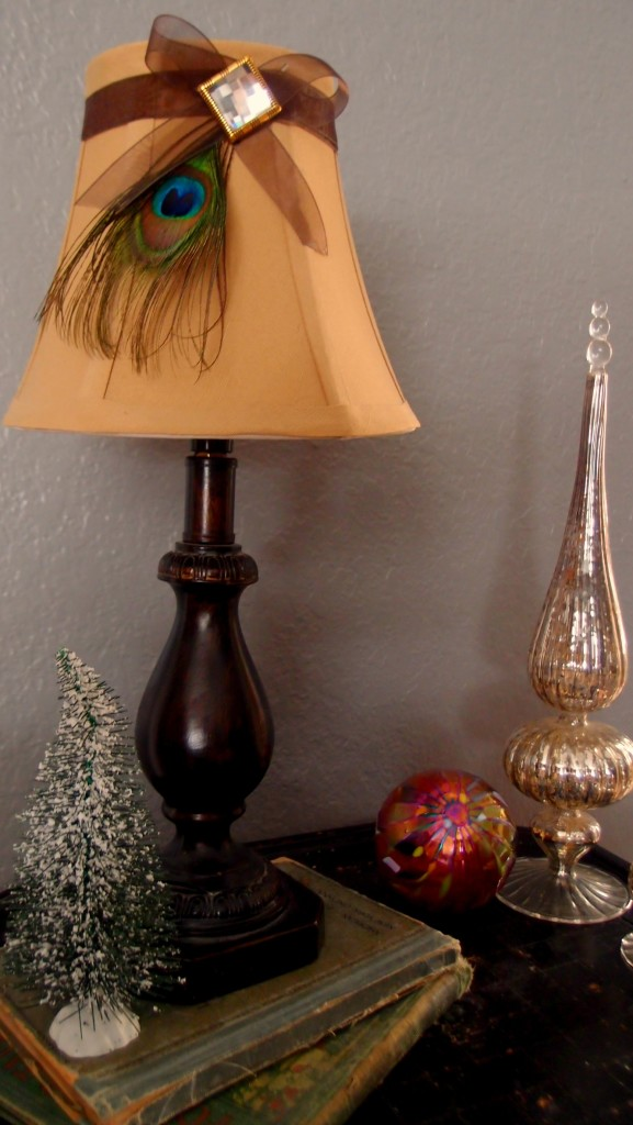 Simply Homemade Craft A Peacock Lamp Shade Kristen Anne