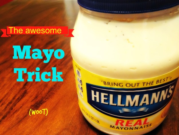 How to Fix Furniture with Mayo