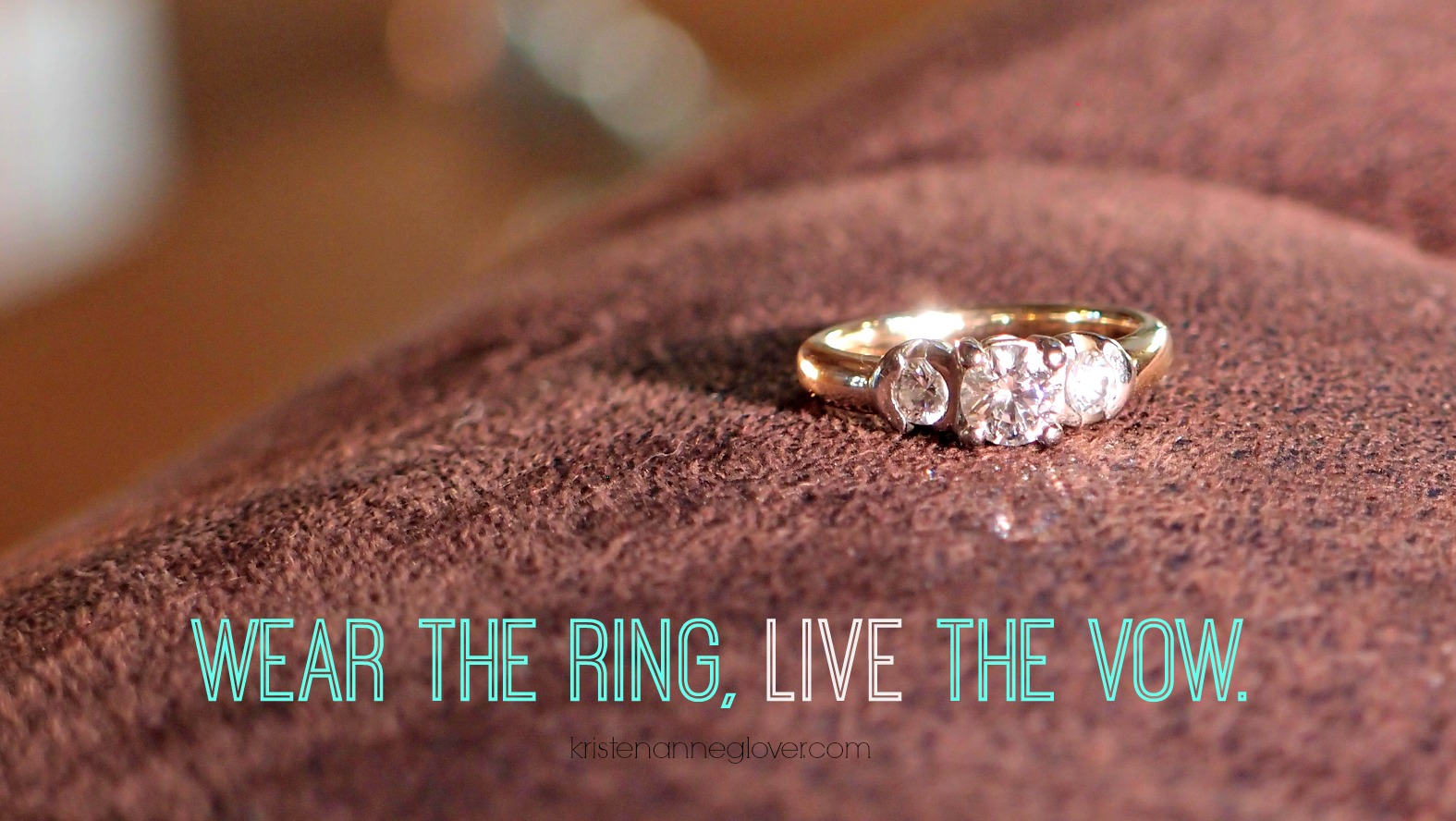 Why I Stopped Wearing My Wedding Ring Kristen Anne Glover